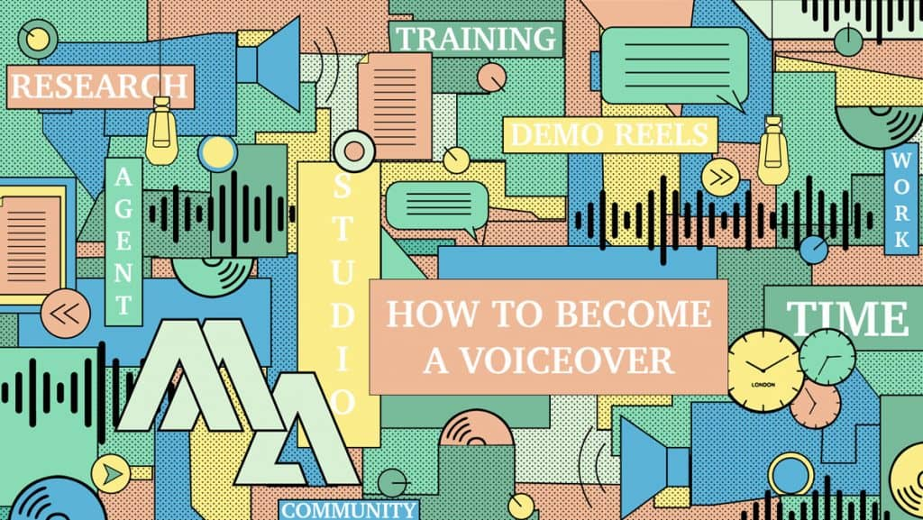 Being A Voice Actor - How to become a voiceover blog