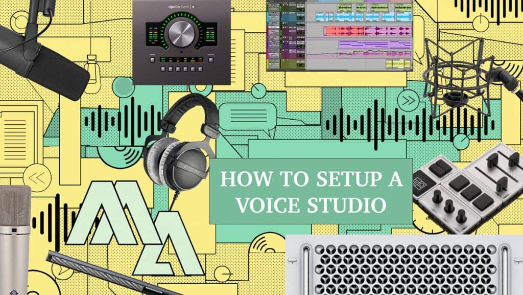 Being A Voice Actor - Voiceover Recording Equipment